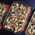 Sage Sausage, Cornbread, and Challah Stuffing – Thanksgiving Basics