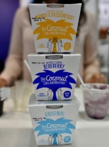 Winter Fancy Food Show 2018 Coconut Collaborative yogurt
