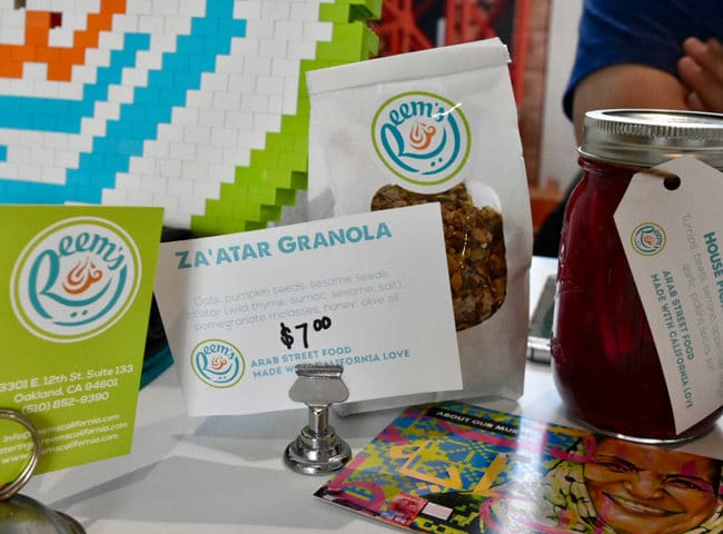 Winter Fancy Food Show 2018 Reems Za'atar Granola