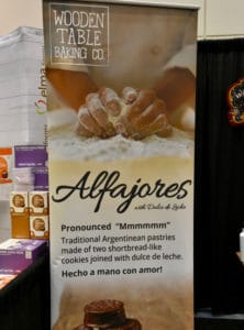 Winter Fancy Food Show 2018 Alfajores Wooden Table Baking Company
