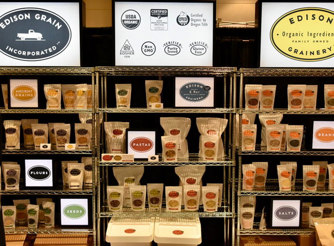 Winter Fancy Food Show 2018 Edison Grainery Gluten Free Grains