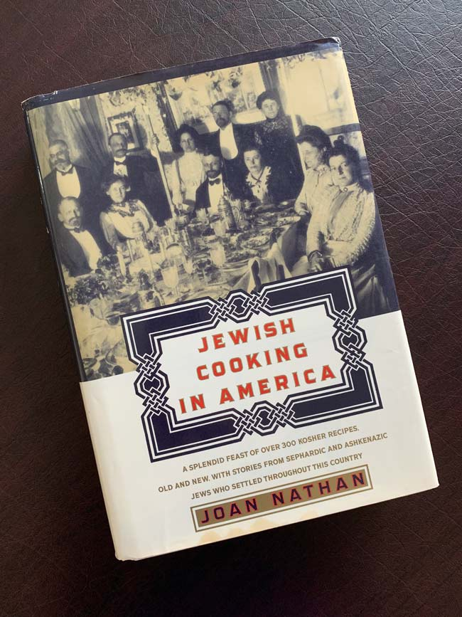 cover of Joan Nathan's Jewish Cooking in America