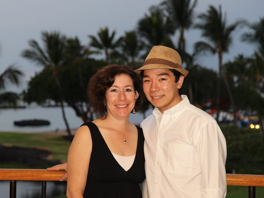 Beth and Gregory in Hawaii