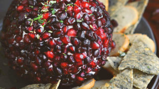 Holiday Appetizer: Pomegranate Cheese Ball